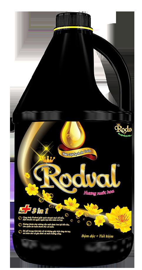 Nước giặt Rodval hương nước hoa 3.5L