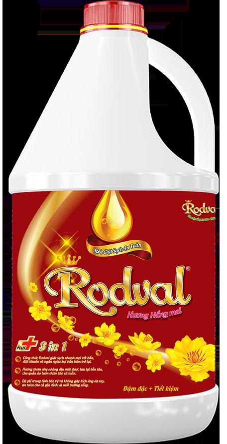 Nước giặt Rodval hương nắng mai 3.5L