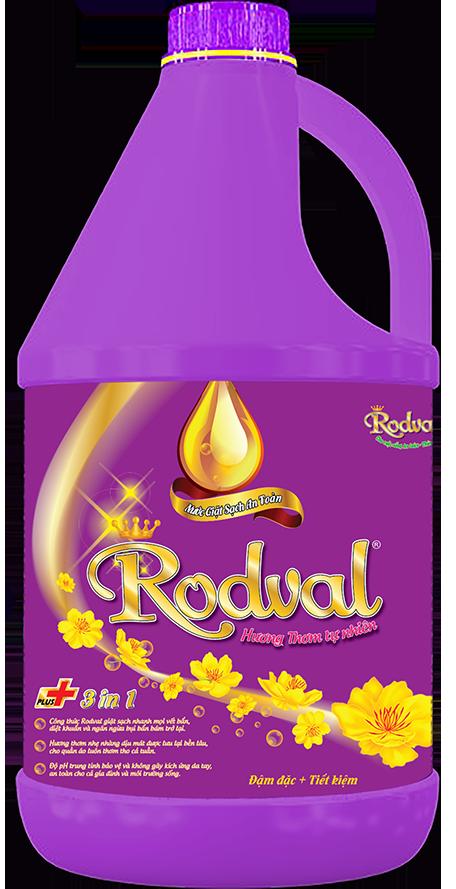 Nước giặt Rodval hương tự nhiên 3.5L