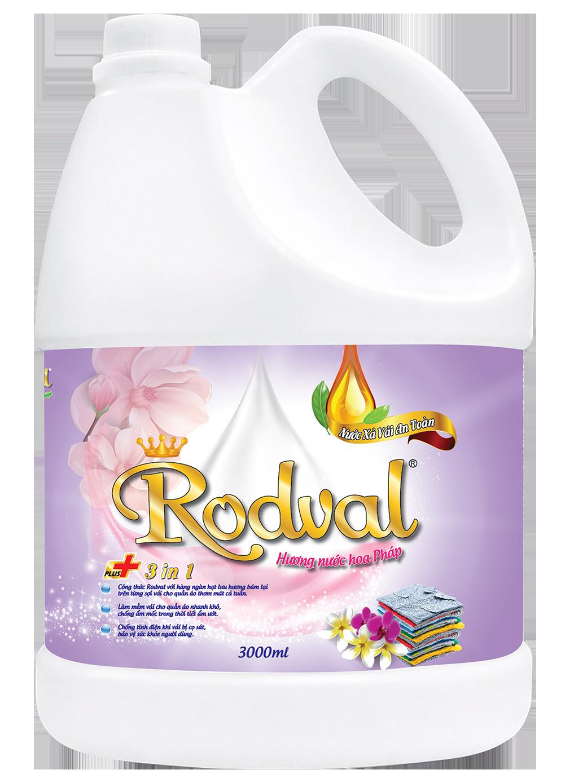Nước xả Rodval hương nước hoa Pháp 3L