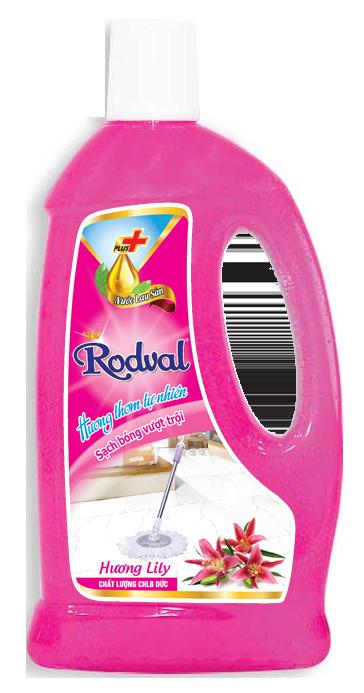 Nước lau sàn Rodval hương Lily 1L